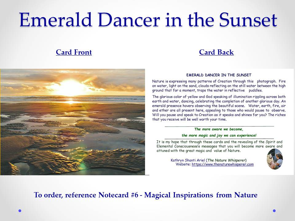 Magical Inspirations From Nature Notecards