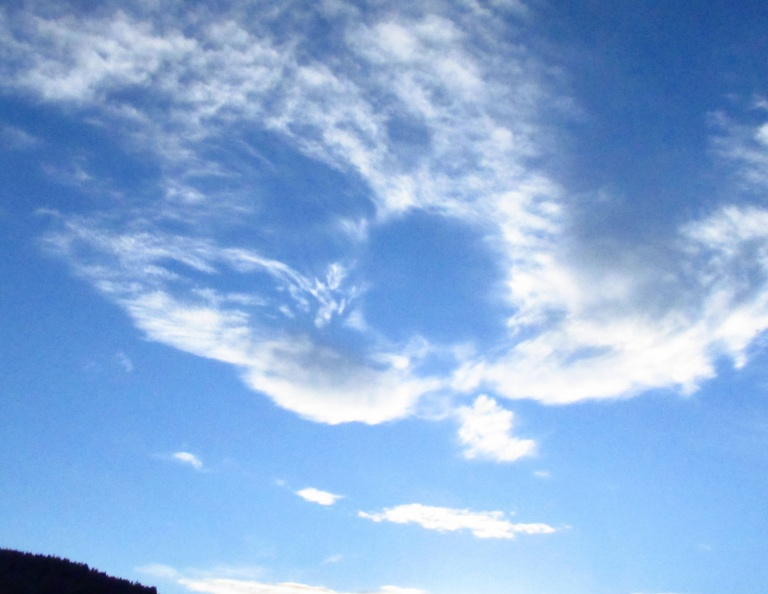 Angel over Lake Siskiyou
