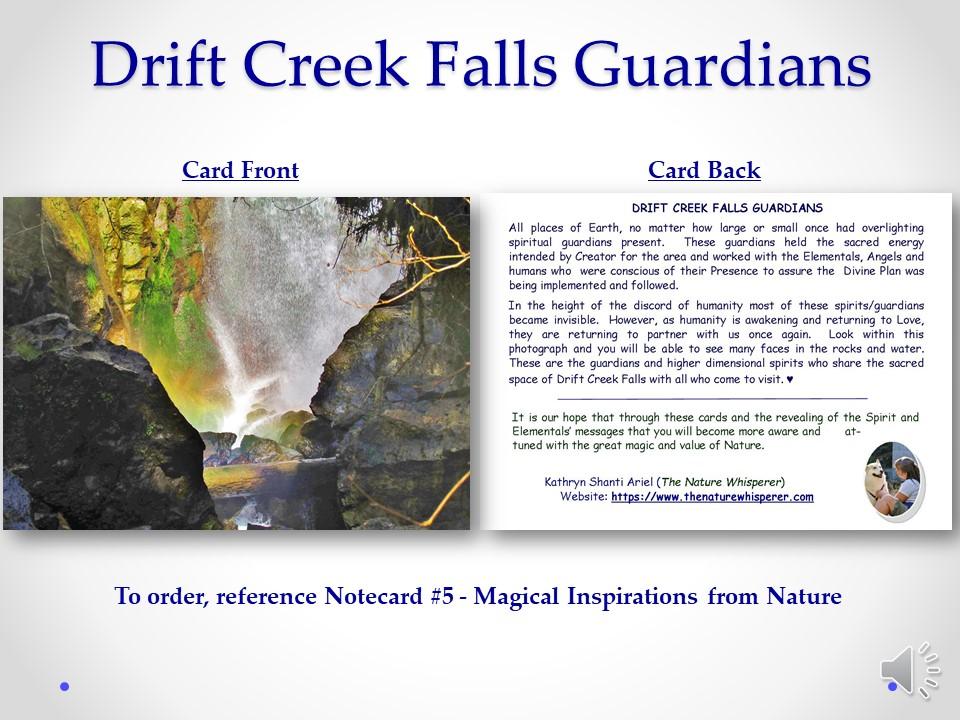 Drift Creek Falls Guardians side by side